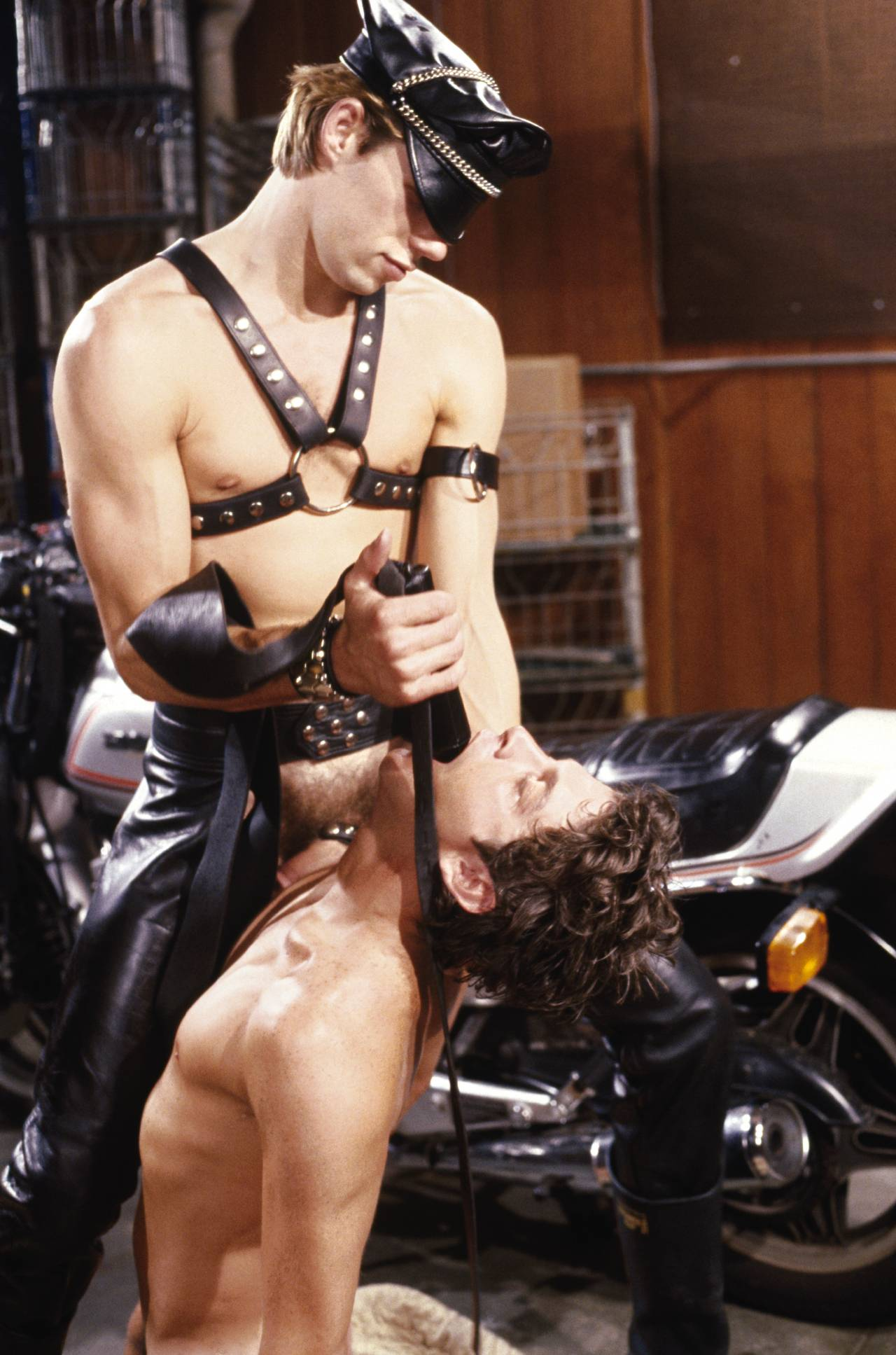 Tim Kramer  Mac Turner vintage gay hot daddy dude porn Biker's Liberty