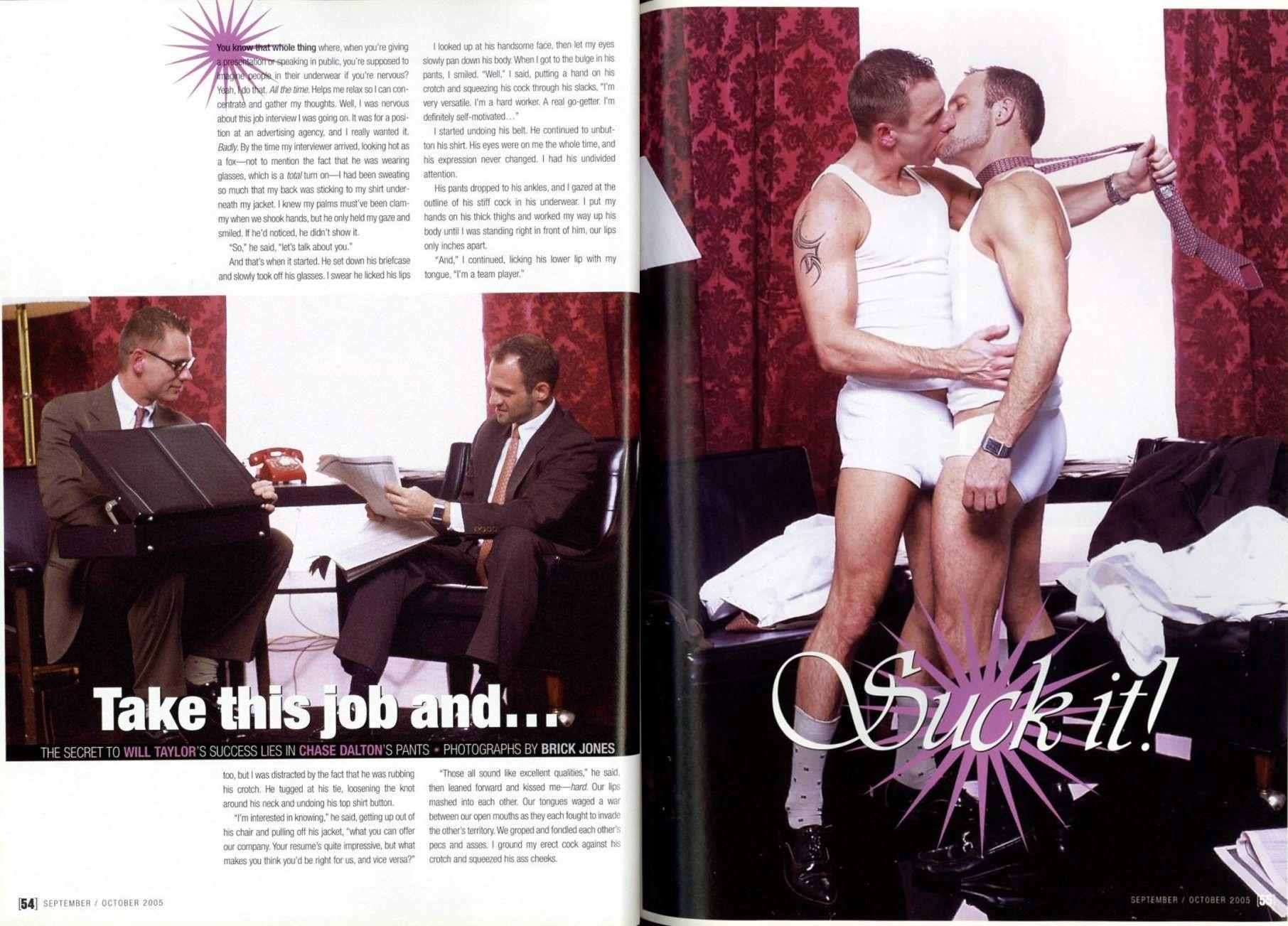 Chase Dalton Will Taylor gay hot daddy dude men porn 2Mag