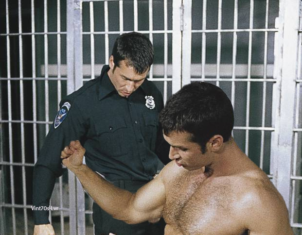 Chris Steele fuck Jason Hawke gay hot daddy dude men porn Cops on Duty