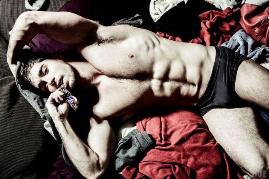 Chris Matesevac gay hot daddy dude men Laundry Lust