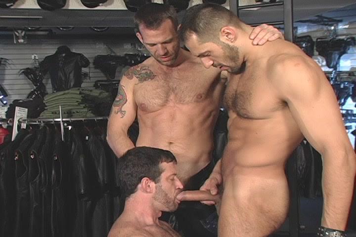 Arpad Miklos Gus Mattox fuck Sam Shadon gay hot daddy dude men porn Leatherbound