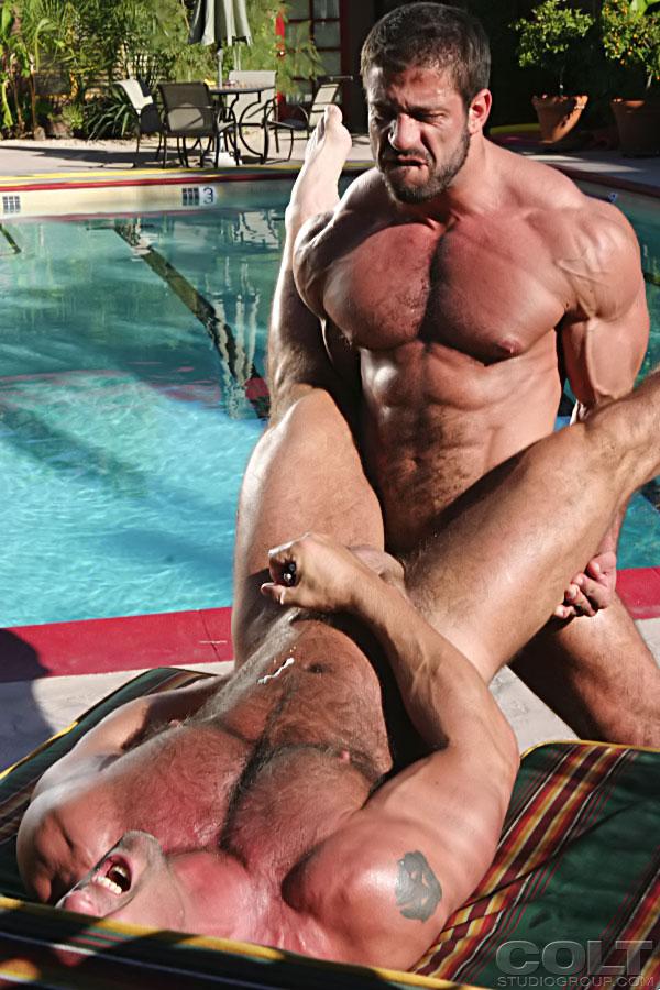 Carlo Masi fuck Zak Spears gay hot daddy dude men porn Wide Strokes