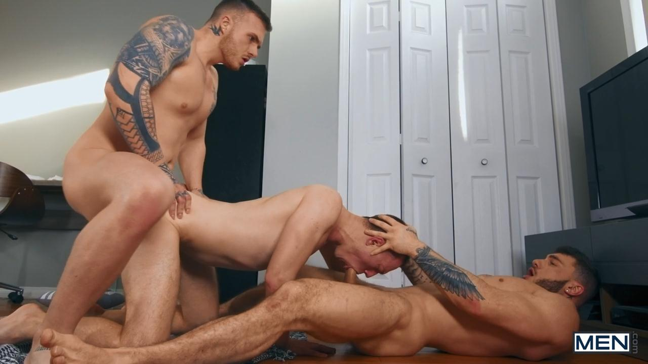Theo Ross fuck William Seed Cayden Solano gay hot daddy dude men porn Owned and Boned