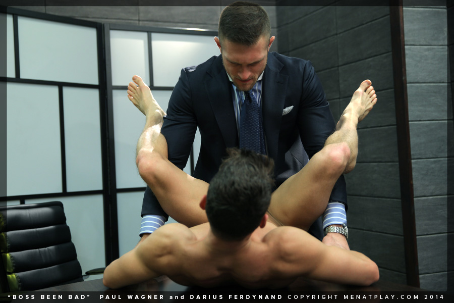 Paul Wagner fuck Darius Ferdynand gay hot daddy dude porn Men at Play