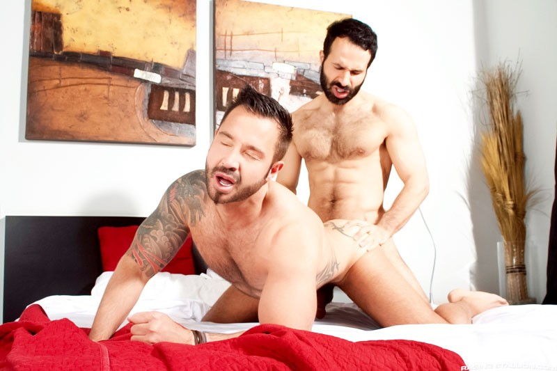 Aybars fuck Martin Mazza gay hot daddy dude men porn Barcelona