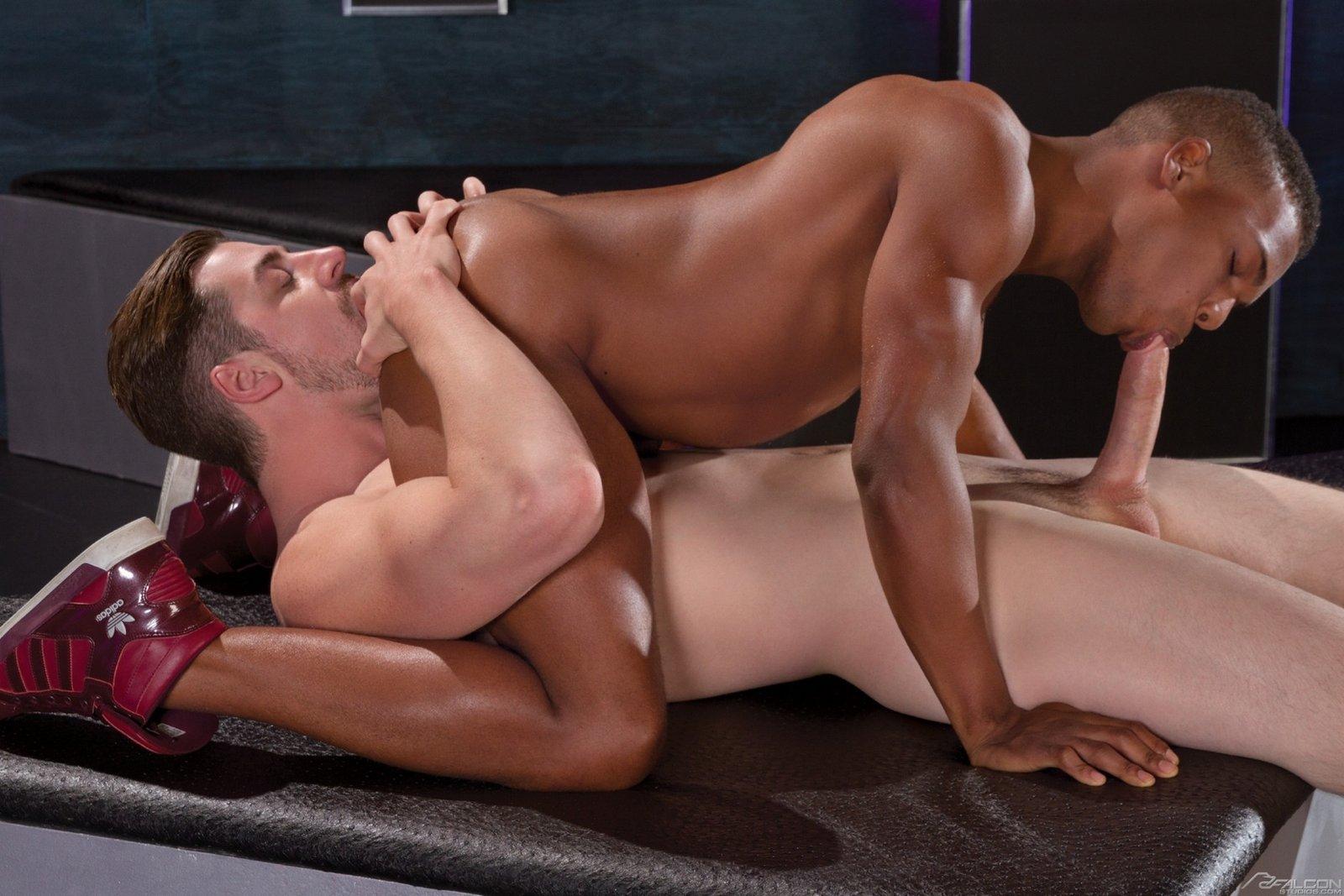 Andrew Stark fuck Adrian Hart gay hot daddy dude men porn Double Kross