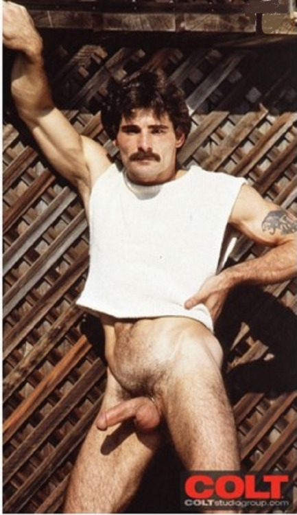 Joe Porcelli vintage gay hot daddy dude men porn