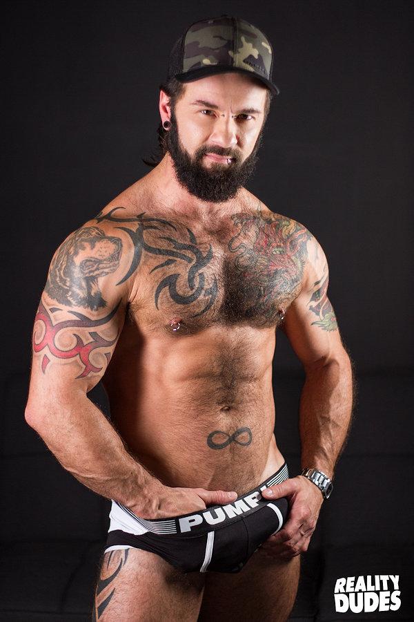 Manuel Deboxer gay hot daddy men Reality Dudes