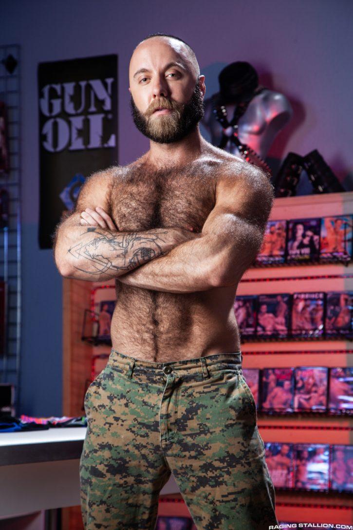 Nigel March gay hot daddy dude men porn