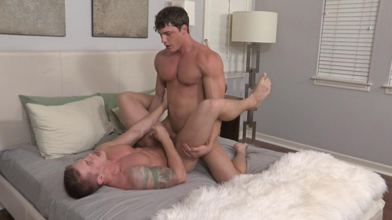 Brandon bareback fuck Duke gay hot daddy dude men porn Sean Cody