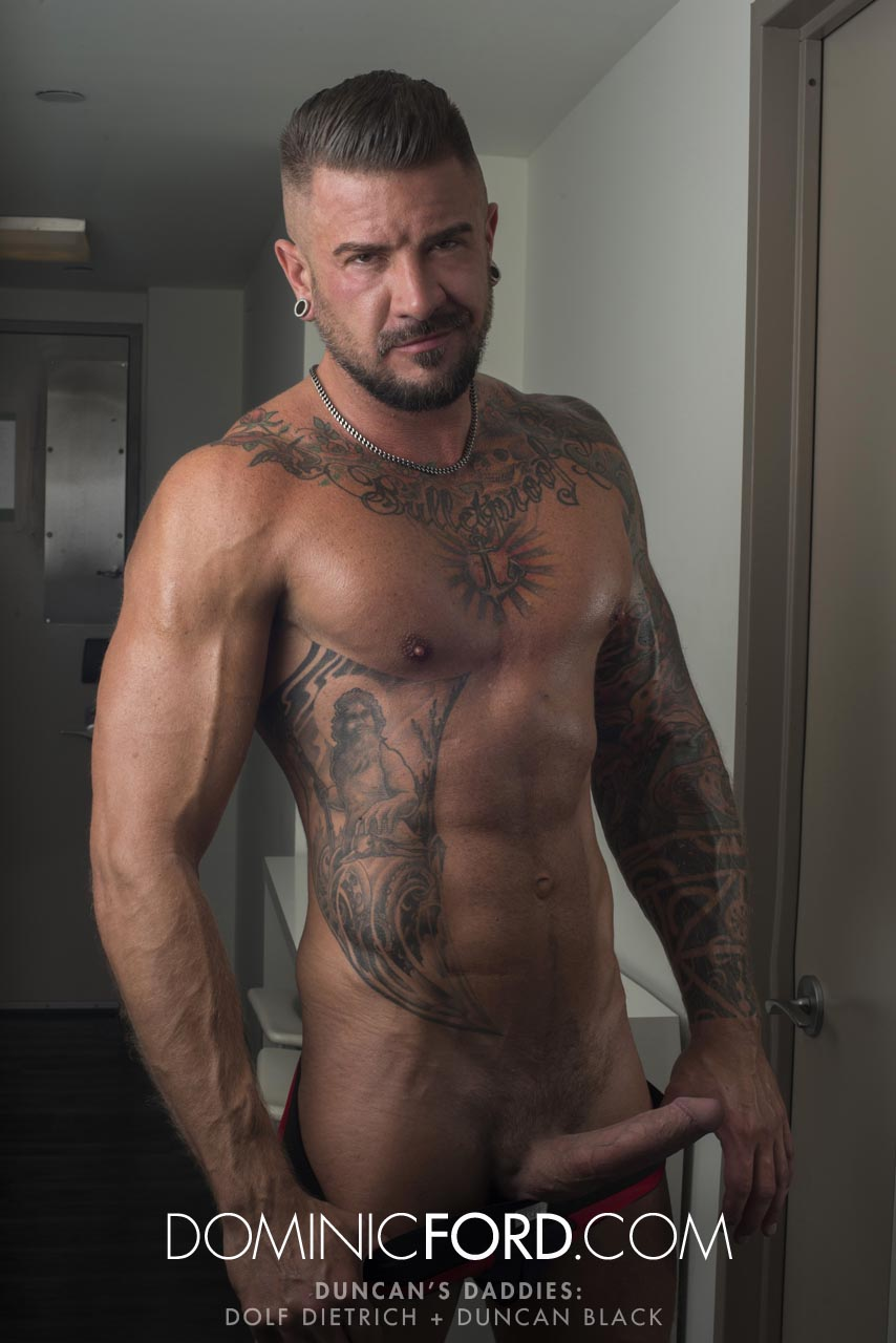 Dolf Dietrich gay hot daddy dude men porn