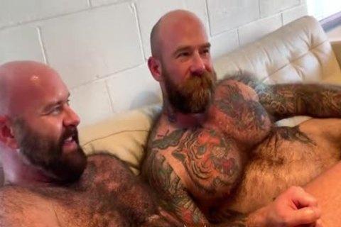 Luke Harrington bareback fuck breed Jack Dixon gay hot daddy dude men porn Deviant