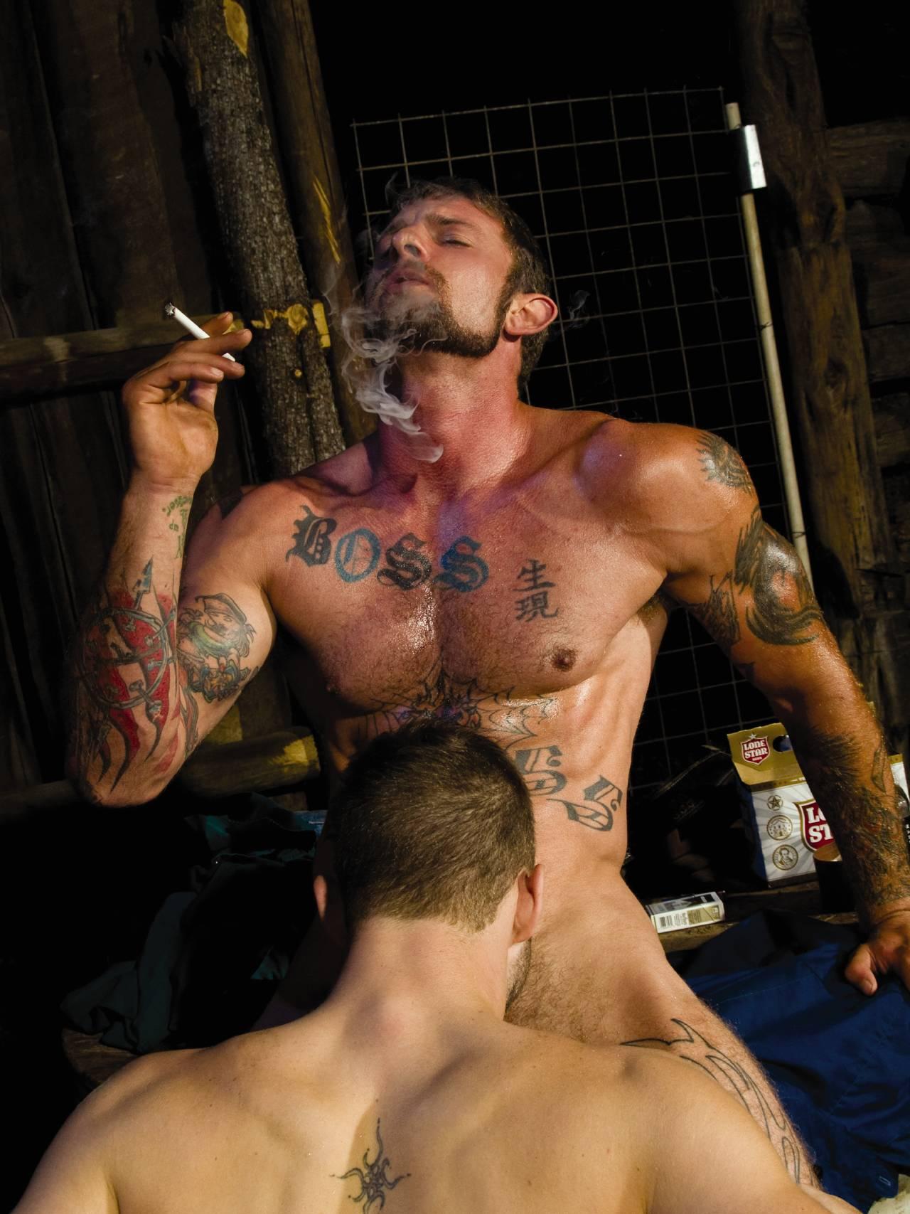Ricky Sinz - Jackson Wild gay hot daddy dude men porn smoke blowjob dom Gathering Storm