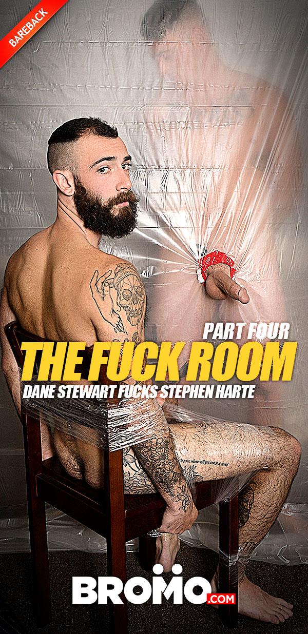 Dane Stewart bareback fuck Stephen Harte Fuck Room