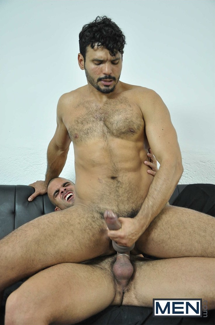 Damien Crosse fuck Jean Franko gay hot daddy dude men porn detective