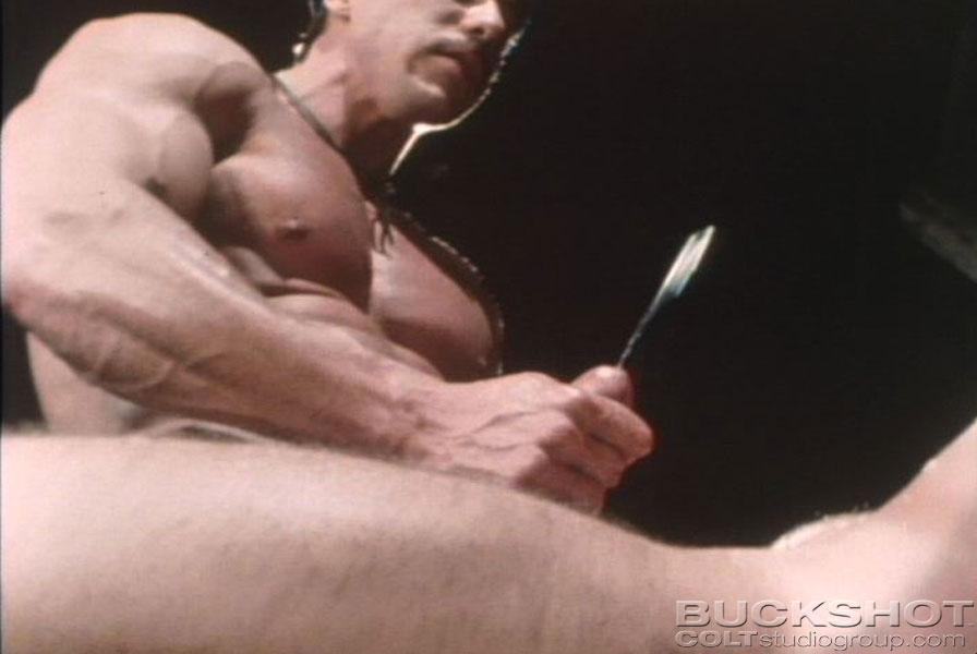 Glenn Steers bareback fuck Frank Vickers gay hot daddy dude men porn vintage hayfever