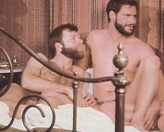 JW King bareback fuck Michael Braun and Nick Jarrett vintage gay hot daddy dude men porn Gold Rush Boys