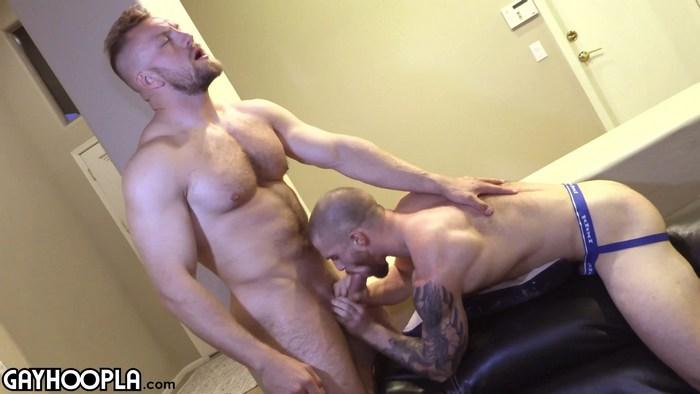 Bryce Beckett  Dustin Hazel flip fuck gay hot daddy dude men porn Gay Hoopla