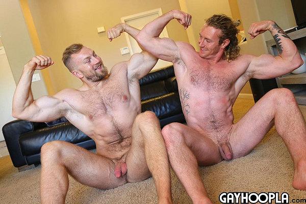 Sage Hardwell fuck Bryce Beckett gay hot daddy dude men porn Gay Hoopla