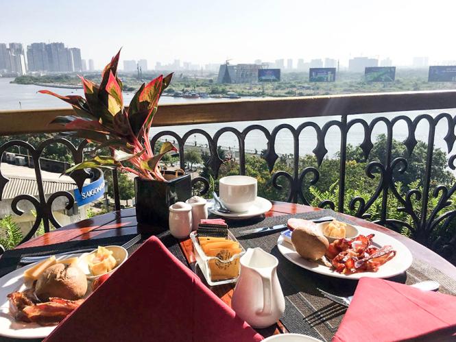 View, Majestic Hotel, Saigon
