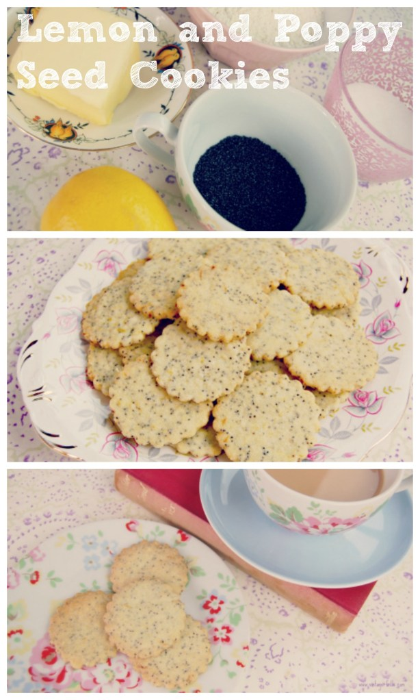 Recipe – Lemon and Poppy Seed Cookies