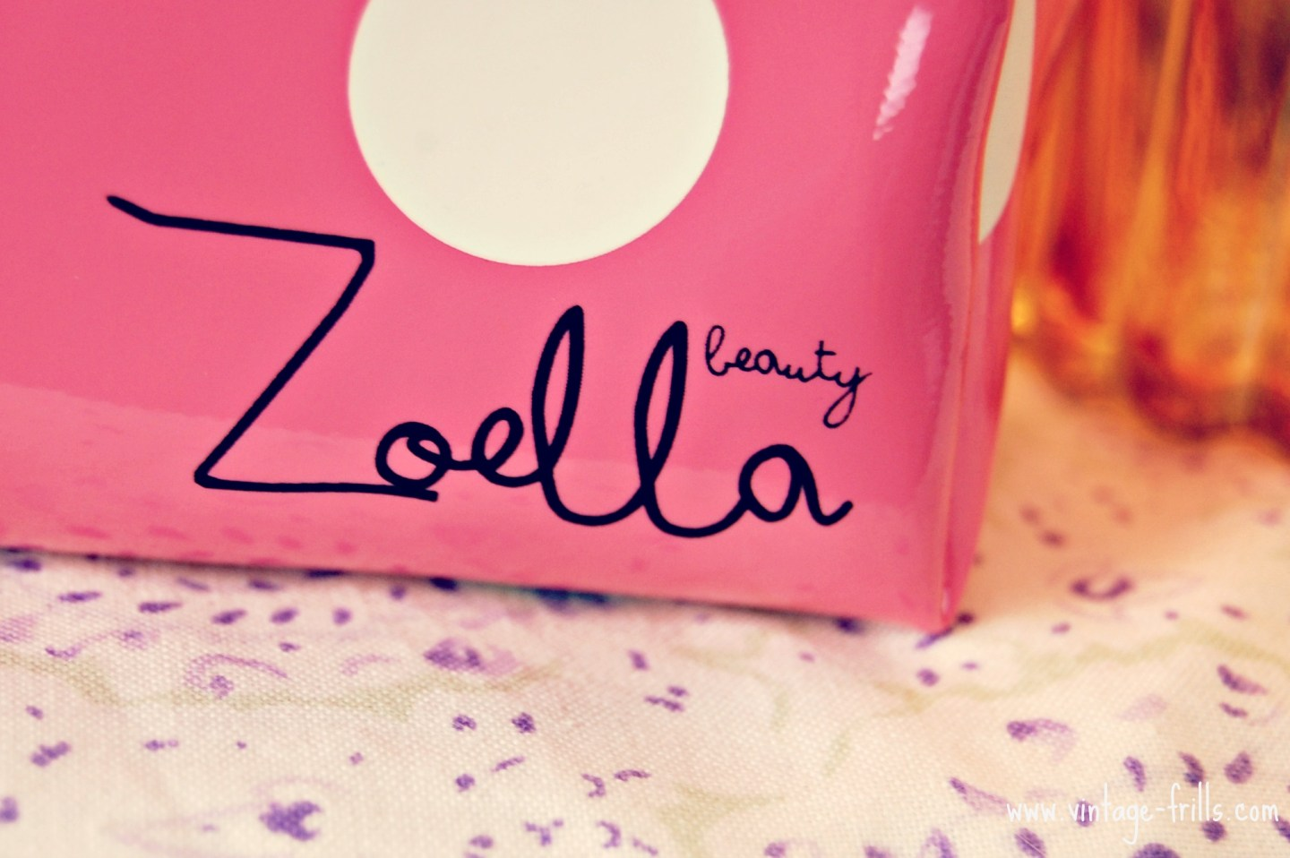 Zoella, Zoella Beauty, Zoella Make-up bag, Guinea Pig, Pink
