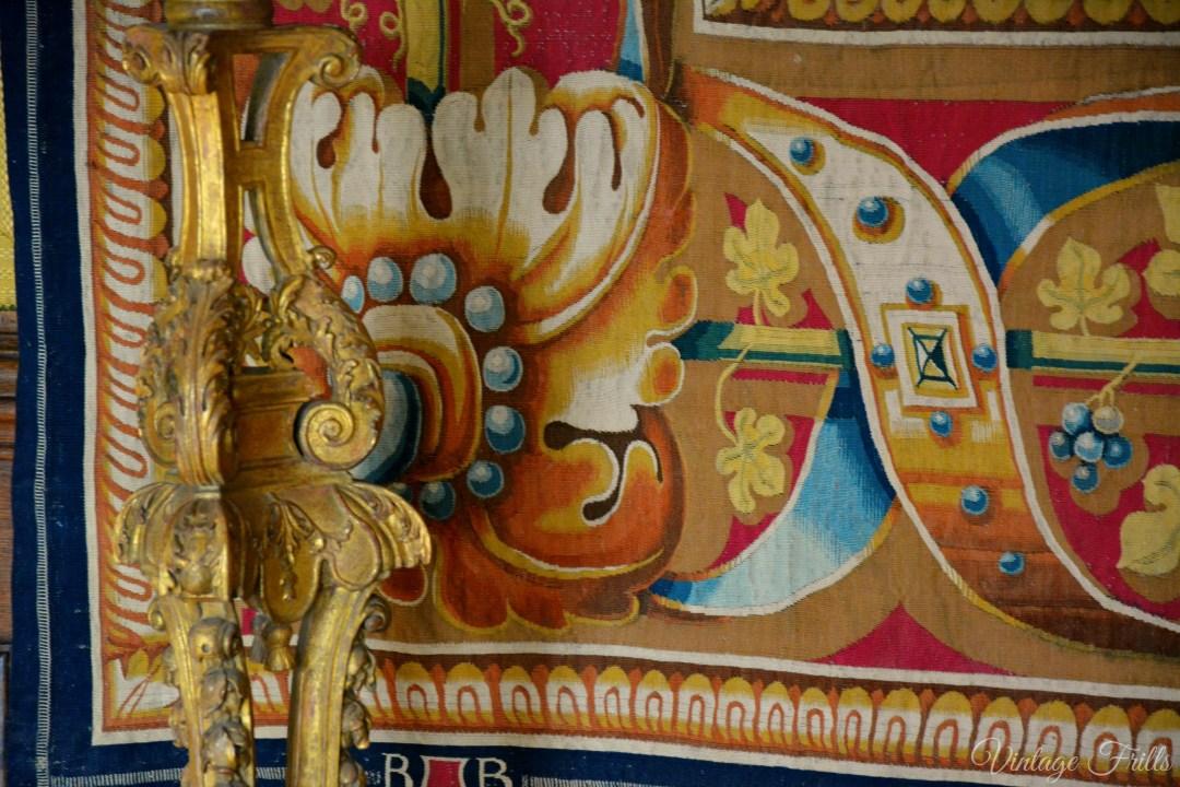 Hampton Court Tapestry Detail