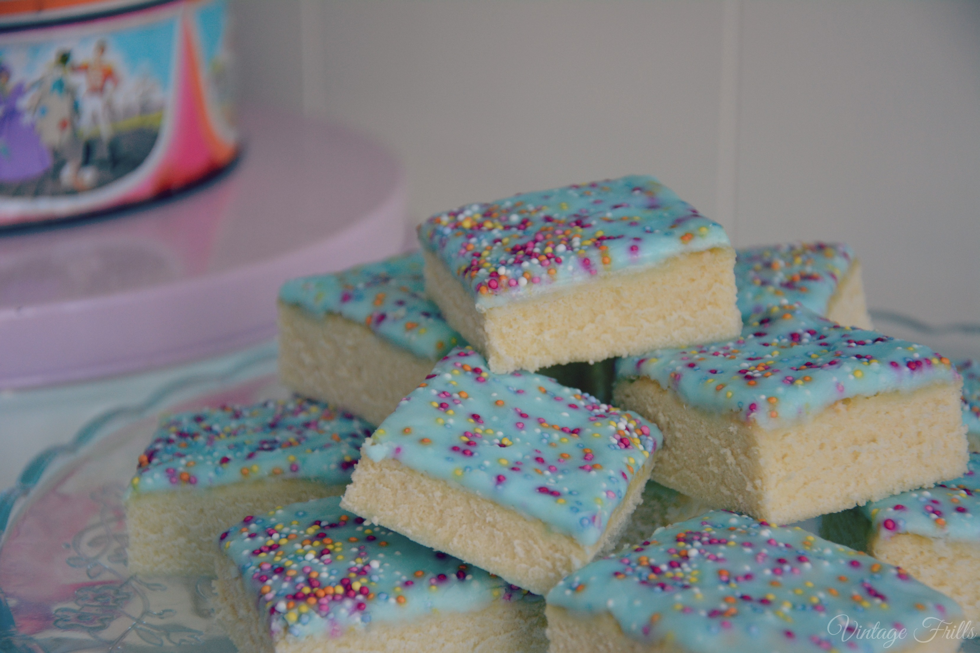 Cooked Cake With Icing Before