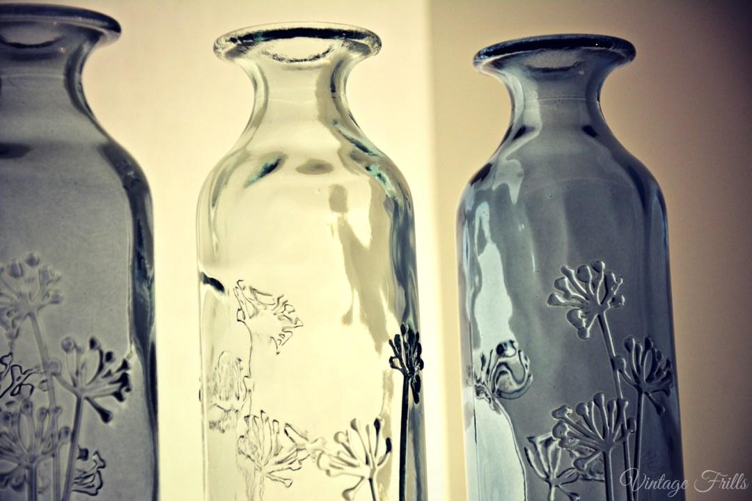 Next Home Summer 15 Press Day Blue Glass Bottles