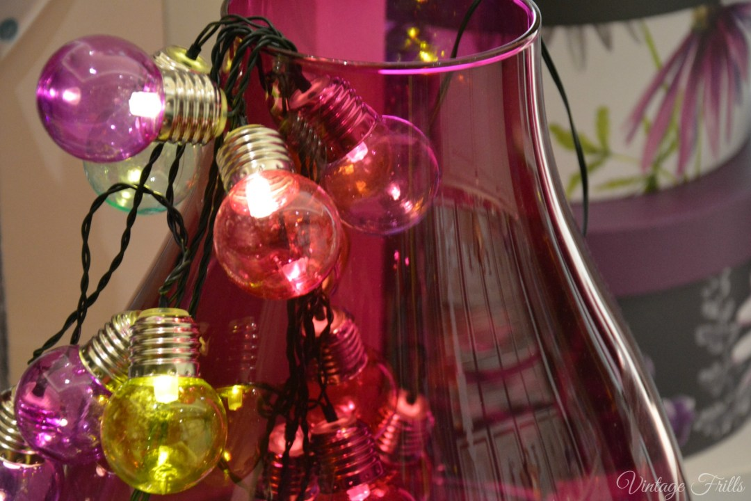 Next Summer 15 Press Day Colourful Bulb Lights