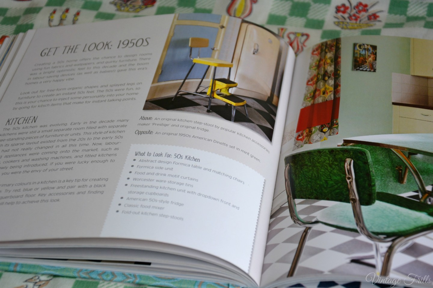 Style Me Vintage Home 1950s Kitchen