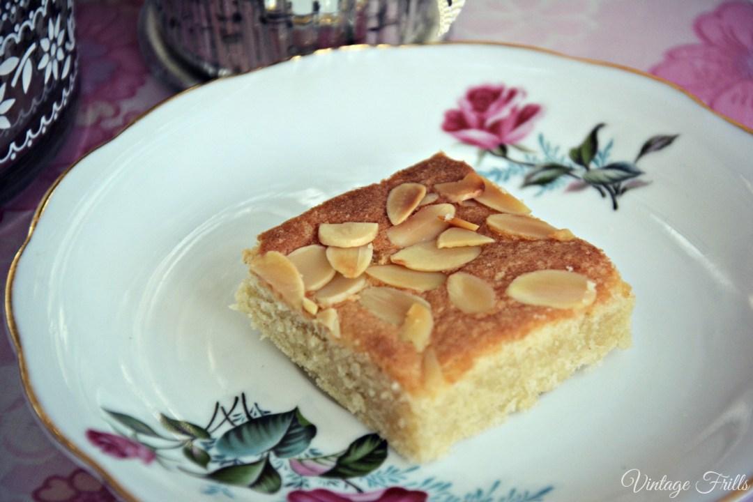 Vintage 1930s Almond Cake Recipe
