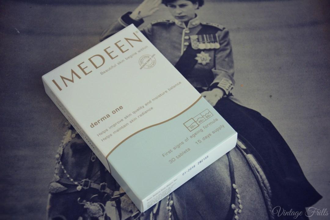April Birchbox Imedeen