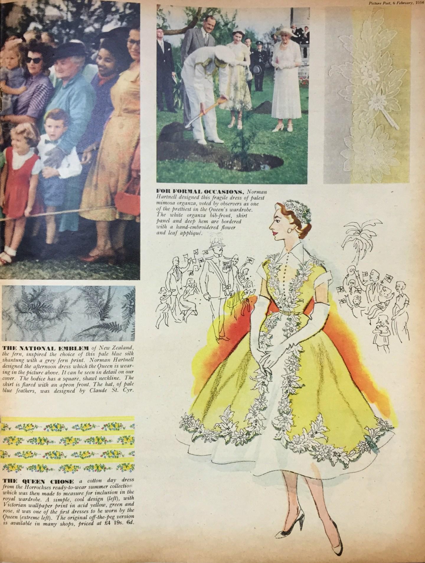 The Queen 1950s dresses