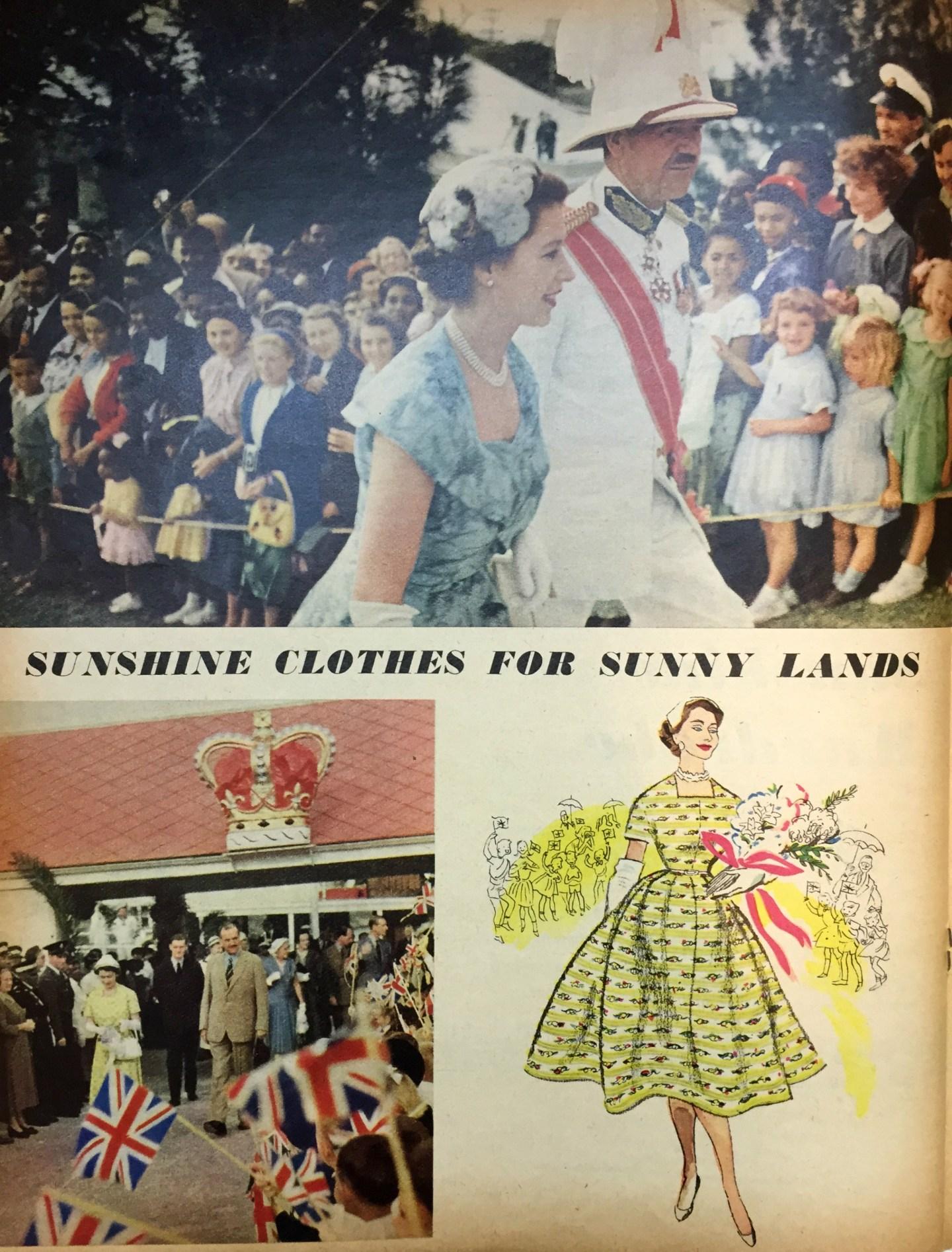 The Queens Royal Tour 1954