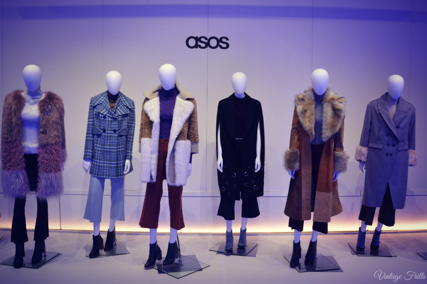 ASOS AW15 Press Day 1970s Coats