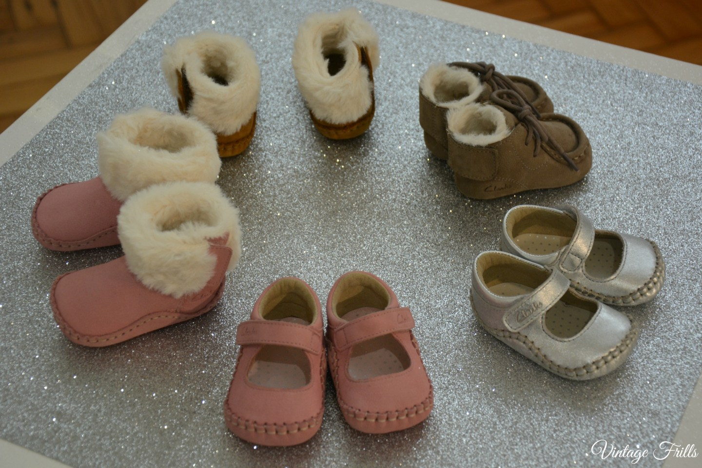 Clarks AW15 Press Day Baby Shoes