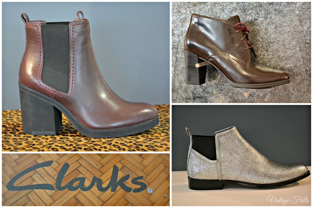 Clarks AW15 Press Day Boots