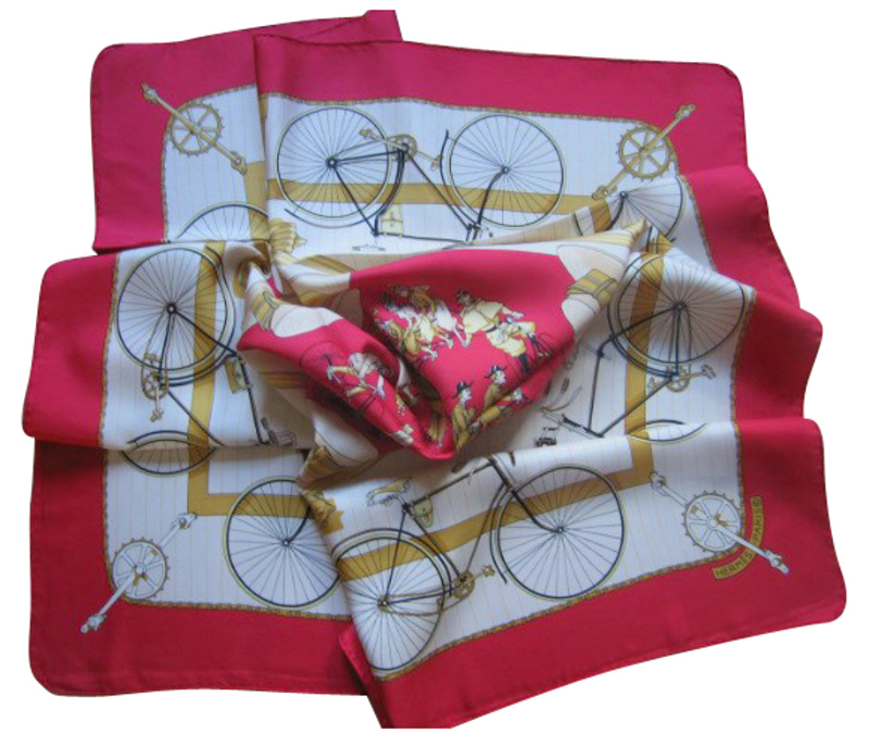 Hermes Bicycle Scarf