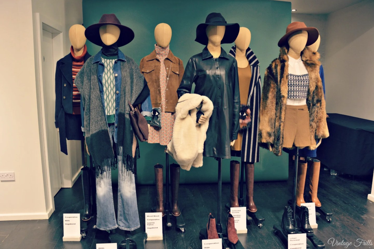 Urban Outfitters AW15 Press Day Seventies Outfits
