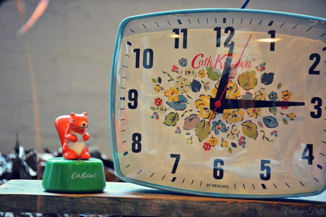 Cath Kidston AW15 Press Day - Clock