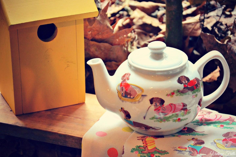 Cath Kidston AW15 Press Day - Dachshund Teapot
