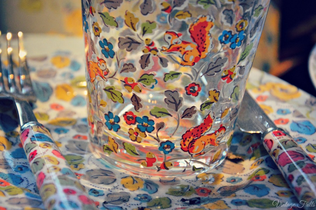 Cath Kidston AW15 Press Day - Woodland Squirrel Print Glass