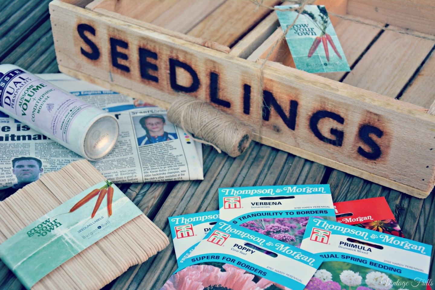 How to Make Newspaper Seed Pots