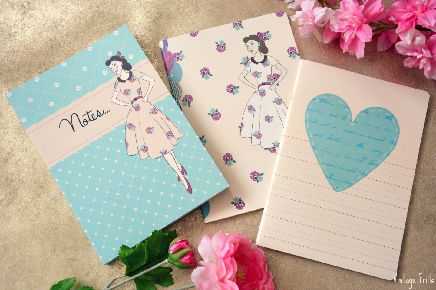 Wilkos Vintage Notebooks
