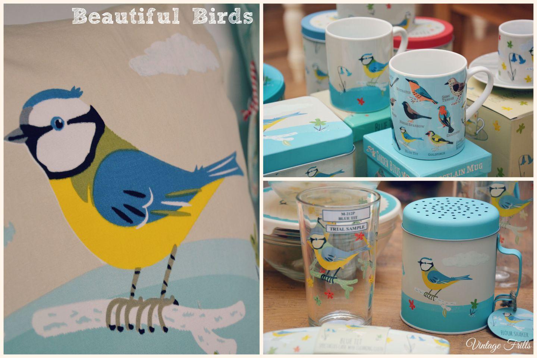 Bluebird Cushion and Kitchenware Dot Com Gift Shop  Vintage Frills