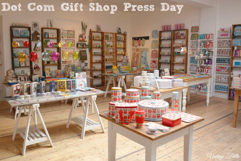 Dot Com Gift Shop Press Day  Vintage Frills