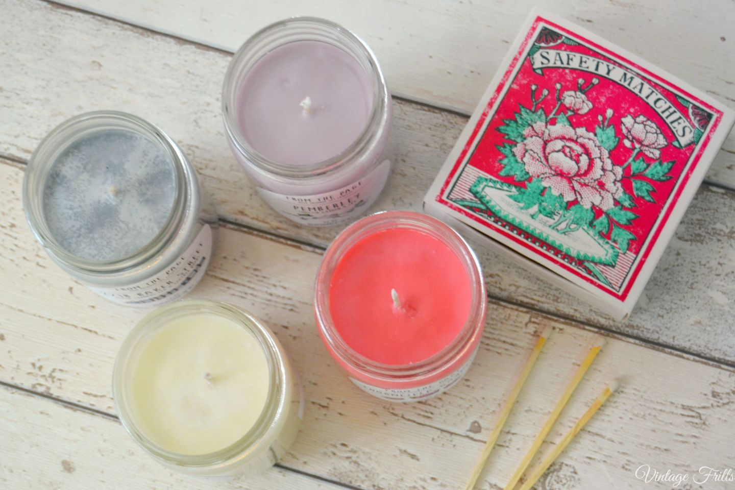 Book Candles  From the Page  Uncommon Goods  Vintage Frills