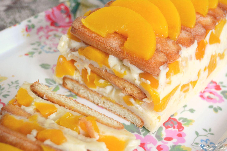 Peach Dessert 1960s Recipe