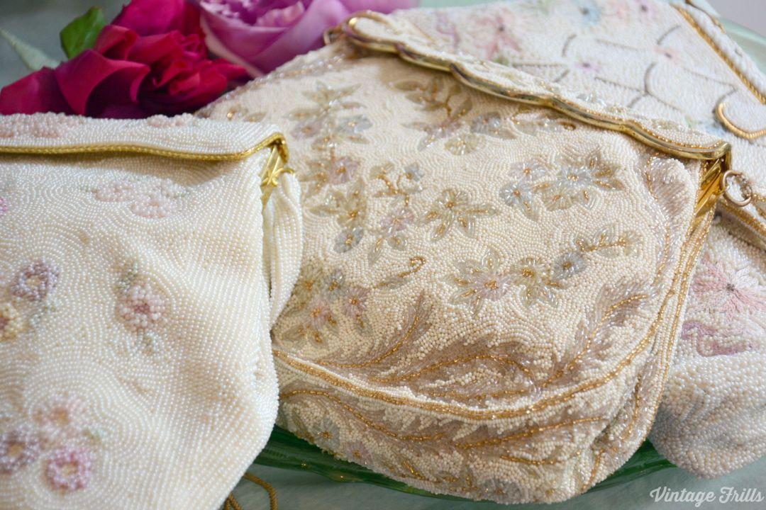 Vintage Beaded Bags  Passionate About Vintage  Vintage Frills